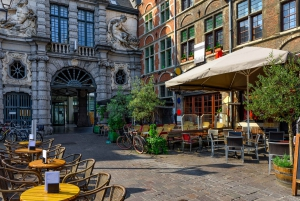 From Brussels: Full-Day Guided Tour of Ghent in Spanish