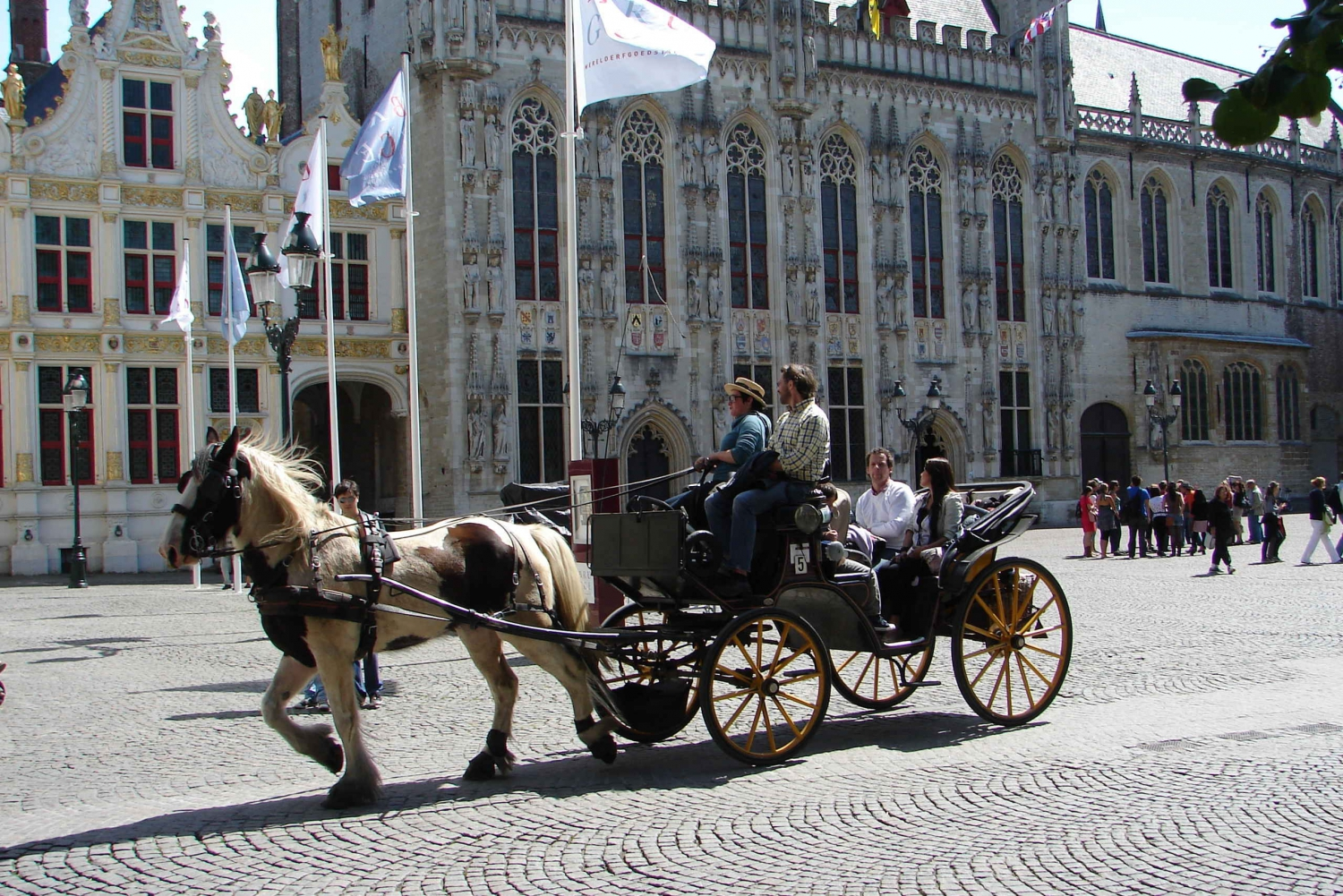 Full Day Excursion to Bruges + Ghent as from Brussels