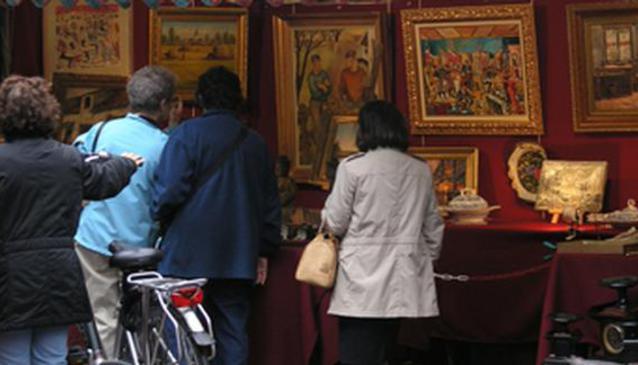 Market of Place du Grand Sablon