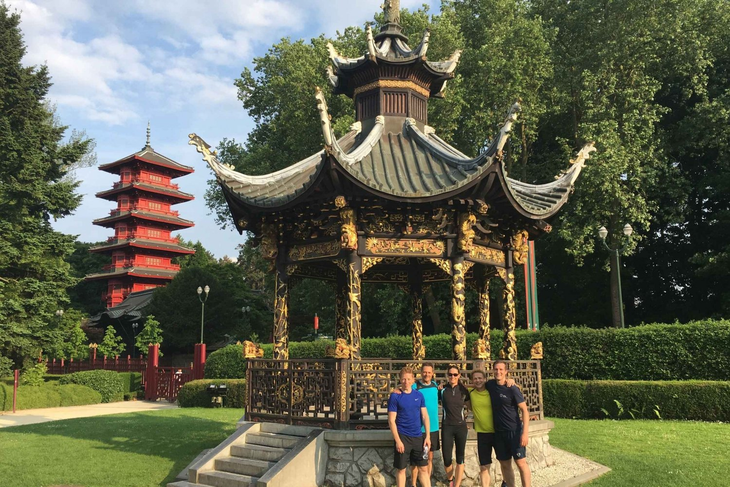 SightJogging: Atomium, green parks and Belgian history
