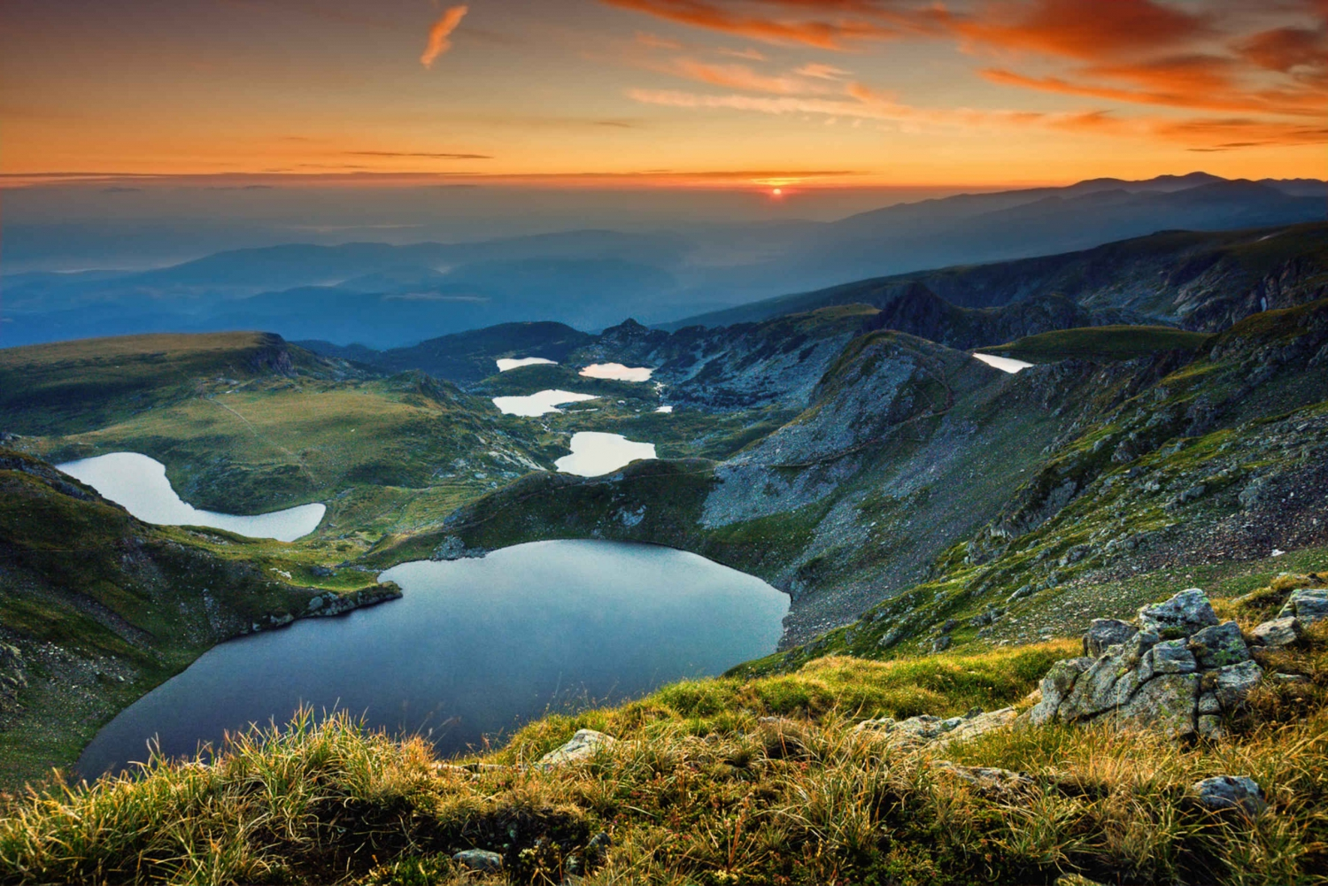7 Rila Lakes and Rila Monastery Day Trip from Sofia