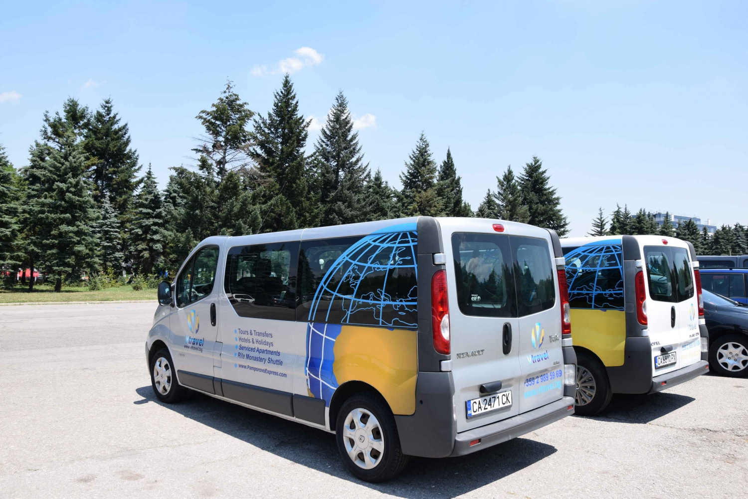 Airport transfer to Sofia Hotel