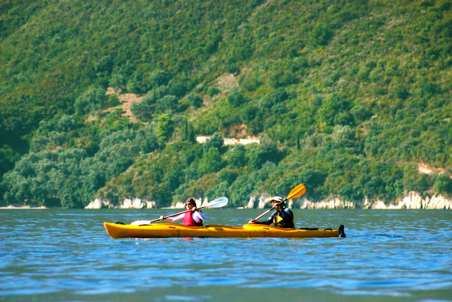 From Sofia: Full-Day Kayak in Lake Pancharevo w/ Lunch