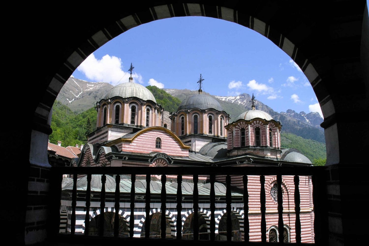 From Sofia: Rila Monastery and Boyana Church Tour