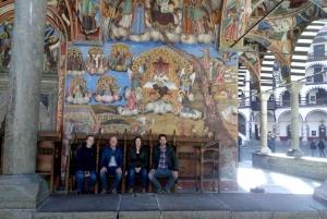 From Sofia: Shuttle Tour to Rila Monastery & Boyana Church