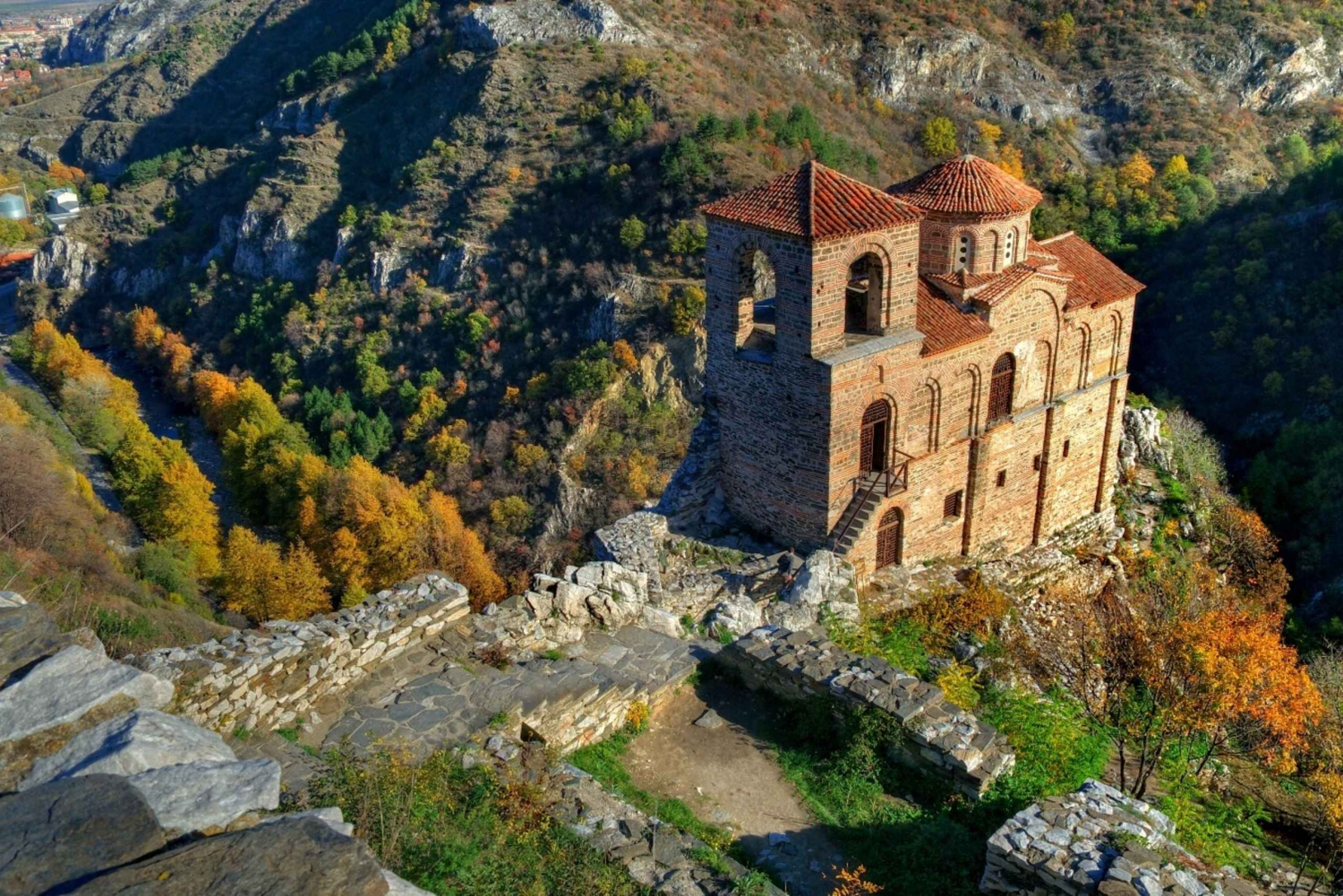 Plovdiv, Asen's Fortress and Bachkovo Monastery Day Tour