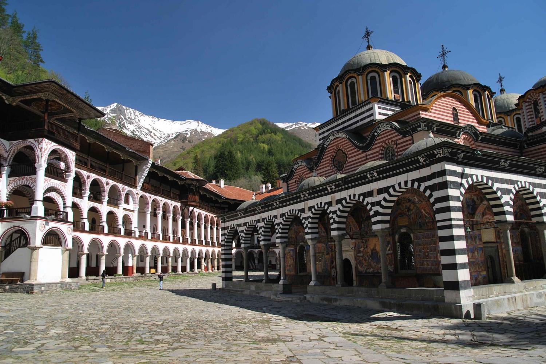 Rila Monastery, Boyana Church and Sofia by Night