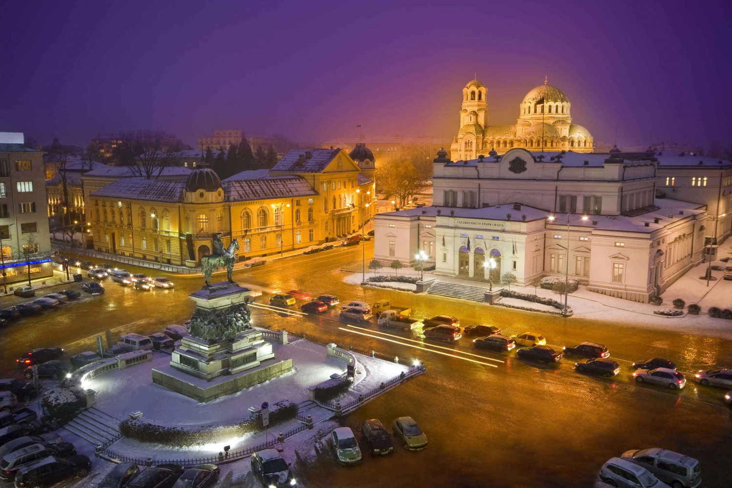 Sofia by Night: Private Tour with Dinner