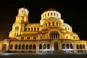 Sofia: Guided Night Tour & Folklore Performance with Dinner