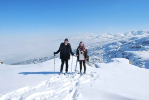 Sofia: Seven Rila Lakes Snowshoe Walk & Thermal Spring Pools
