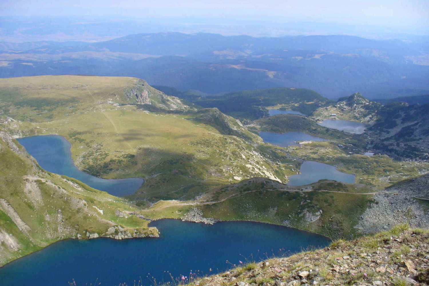 The 7 Rila Lakes: Full-Day Guided Hike from Plovdiv