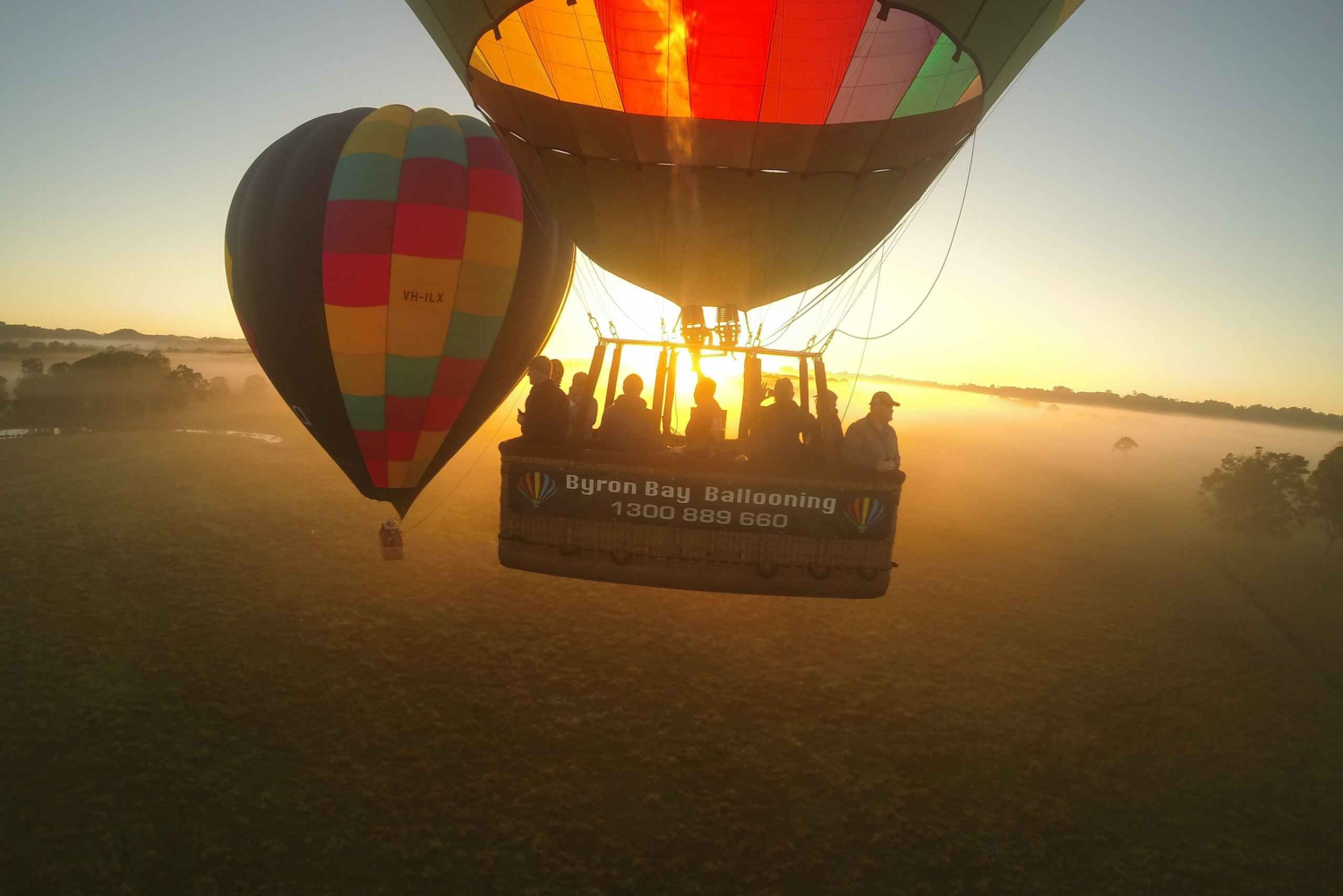 1-Hour Hot Air Balloon Sunrise Flight