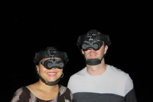 Nighttime Nature Walk with Night Vision Goggles