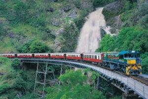 Cairns: Reef Flight, Skyrail & Kuranda Scenic Rail Combo