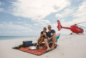 Cairns: Secluded Cay Helicopter Tour