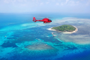 Fly to Green Island: Full-Day Discovery & Cruise Return