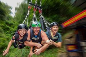 From AJ Hackett Giant Jungle Swing Experience