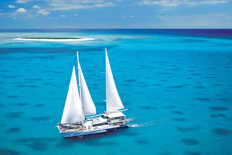 From Michaelmas Cay National Park Catamaran Cruise