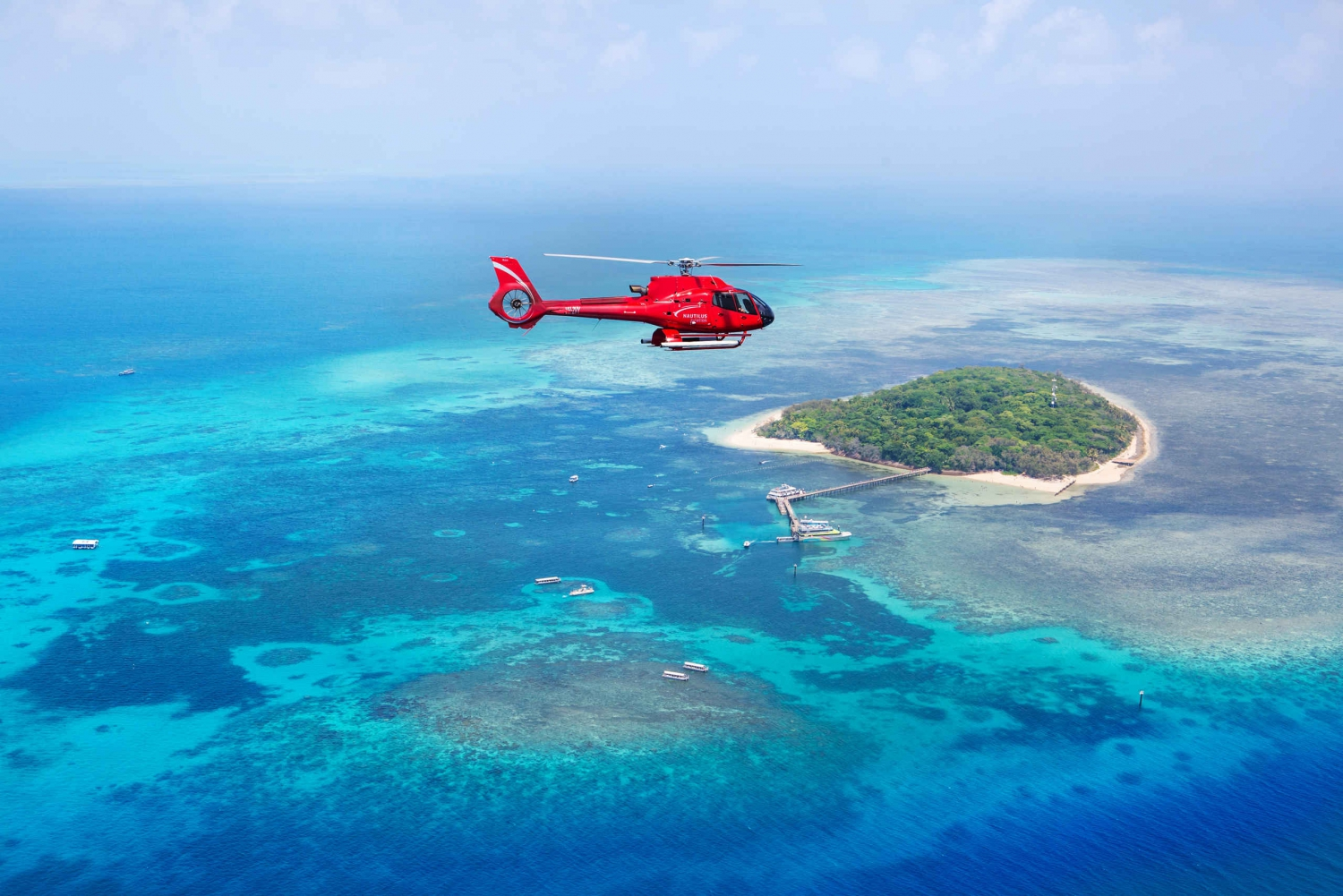 Great Barrier Reef 30-Minute Helicopter Flight