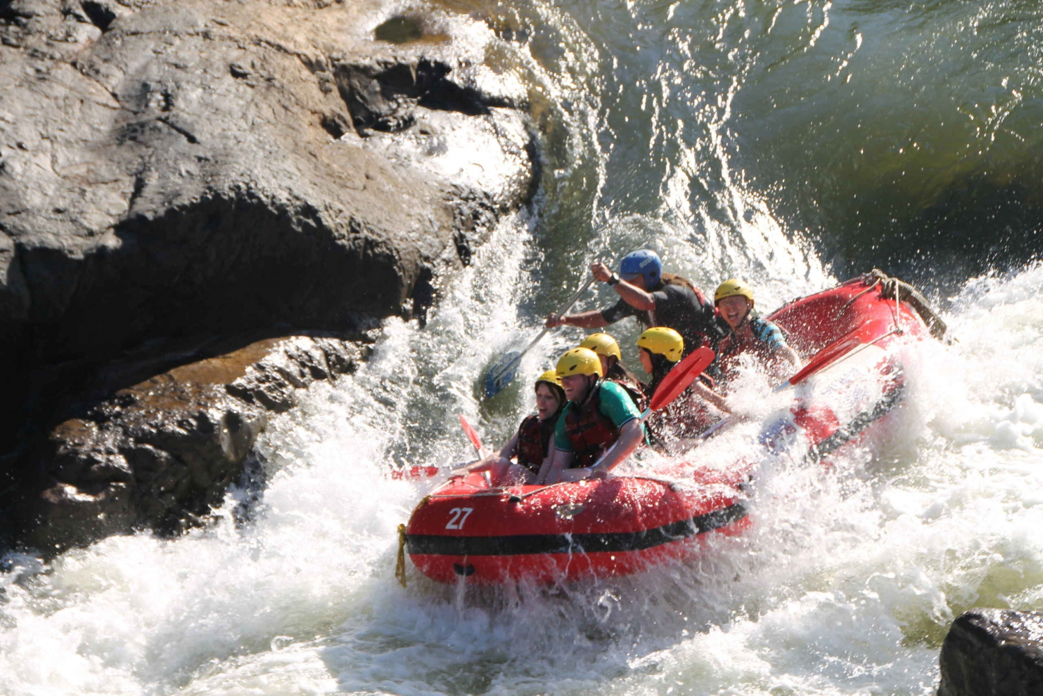 Half-Day Barron River White-Water Rafting Activity