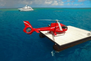 Outer Great Barrier Reef Cruise & Scenic Helicopter Flight