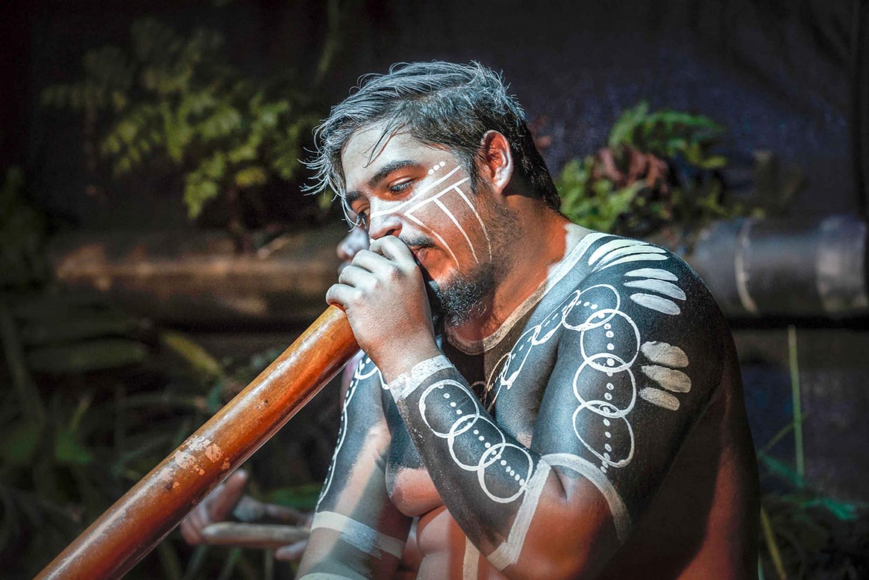 Tjapukai: Aboriginal Cultural Night with Dinner