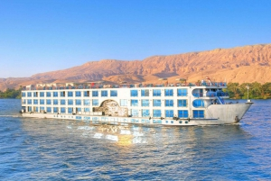 3-Day River Nile Cruise with Hot Air Balloon