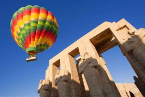 Cairo: 3-Day River Nile Cruise with Hot Air Balloon