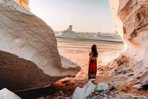 Cairo: Desert and Bahariya Oasis Day Trip with Meals
