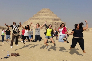 Cairo: Djoser, Bent Pyramid & Memphis Day Trip