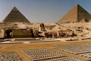Cairo: Giza Pyramids Sound and Light Show with Transfers