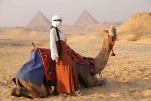 Cairo: Giza Pyramids Tour with Quad Bike Safari & Camel Ride