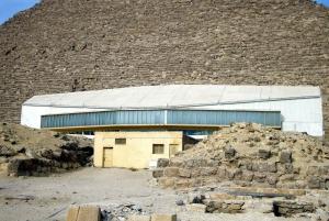Cairo: Half-Day Great Pyramids, Sphinx, & Solar Boat Tour