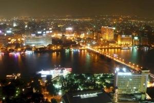 Cairo: Pyramid Sound and Light Show with Night City Tour