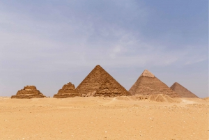 Cairo: Pyramids and Sphinx Tour with River Nile Felucca Ride