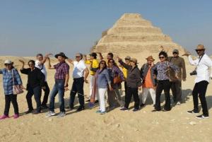 Djoser, Bent Pyramid & Memphis Day Trip