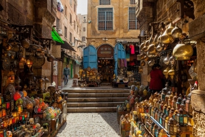 From Cairo or Giza: National Museum, Citadel and Bazaar Tour