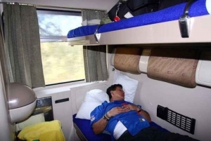 From Cairo: Sleeping Train Transfer to Aswan and Luxor