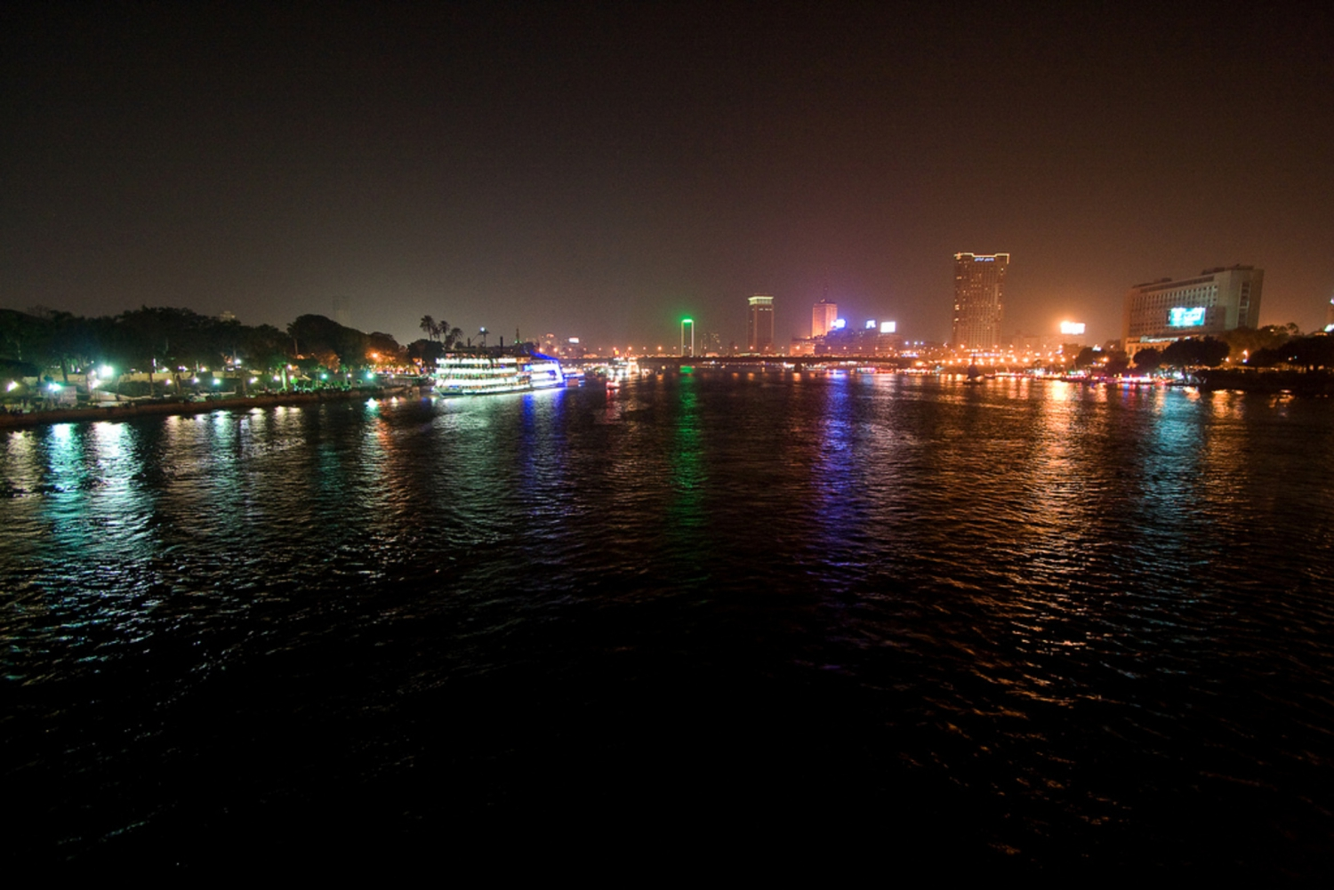 From Dinner Cruise on the Nile River