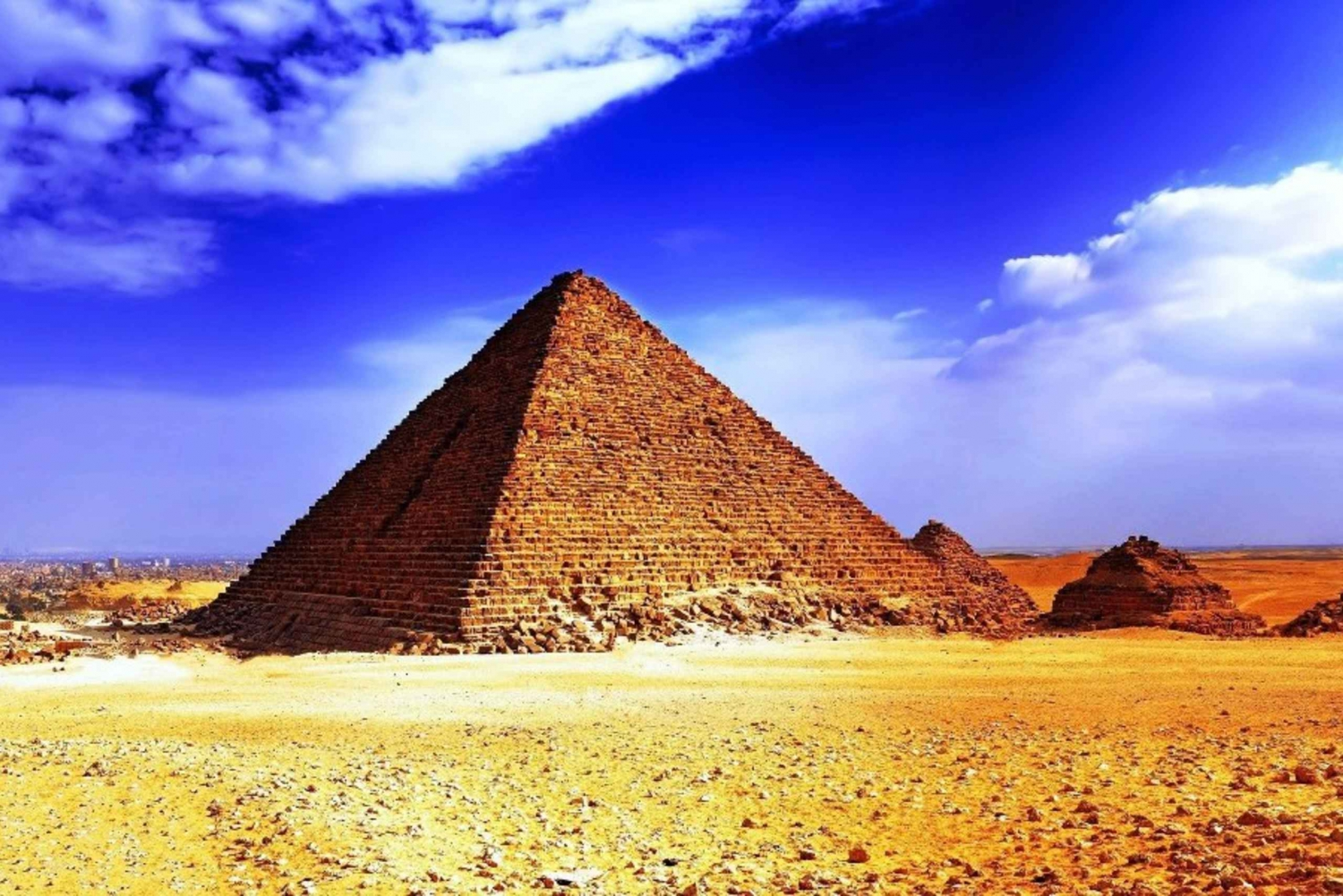 From Hurghada: Cairo 2-Day Tour incl. Flights and Hotel