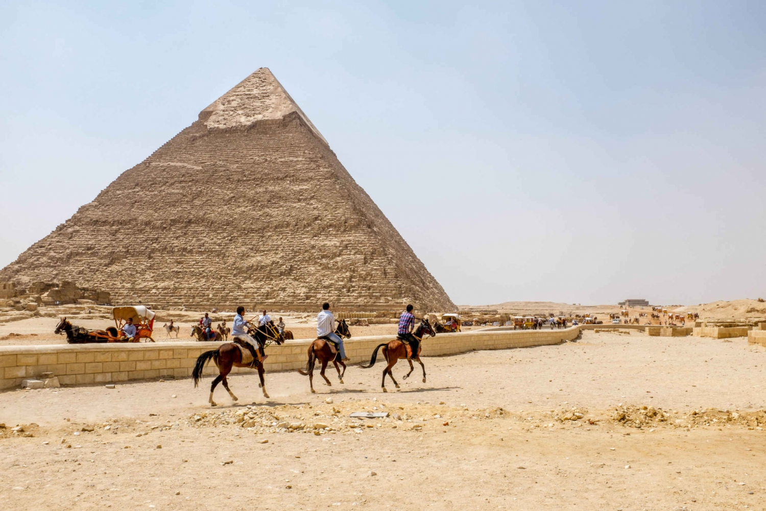 From Pyramids, Memphis, and Sakkara Visit