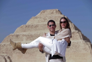 From Sharm: 2-Day Guided Tour of Cairo with Flights