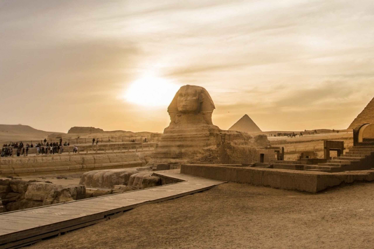 Full-Day Pyramid Tour and Egyptian Museum