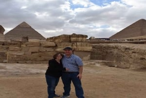 Giza Pyramids and Sphinx: Half-Day Private Tour