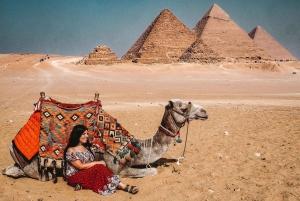 Giza Pyramids, Memphis, and Sakkara Day Trip