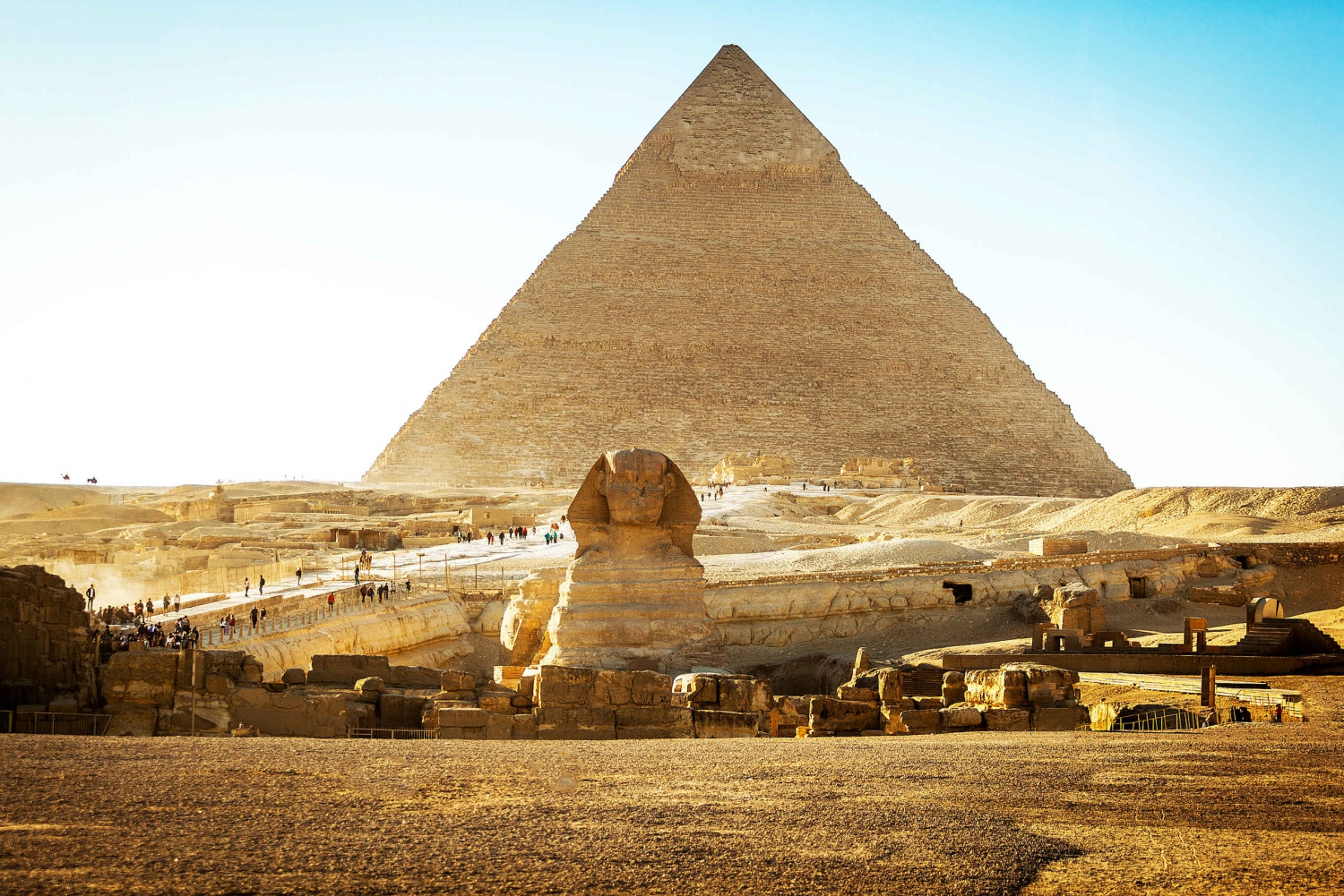 Giza Pyramids, Sphinx, Saqqara, and Dahshur Tour from Cairo