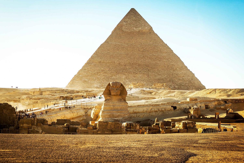 Giza Pyramids, Sphinx, Saqqara, and Dahshur Tour from Cairo