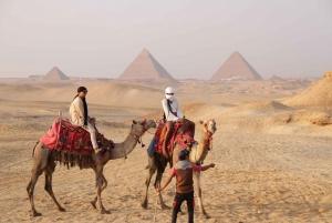 Giza Pyramids Tour with Quad Bike Safari & Camel Ride