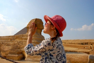 Half-Day Cairo Sightseeing Tour to Pyramids of Giza & Sphinx