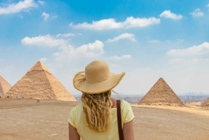 Half-Day Great Pyramids, Sphinx, & Solar Boat Tour